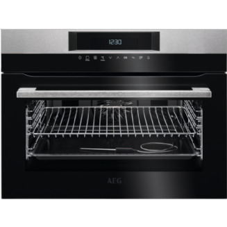 AEG SenseCook - Compact Oven with Pyrolytic Cleaning KPK742220M